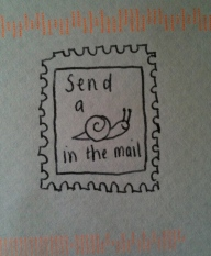 snailin the mail